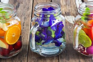Water-charging-flowers-fruit